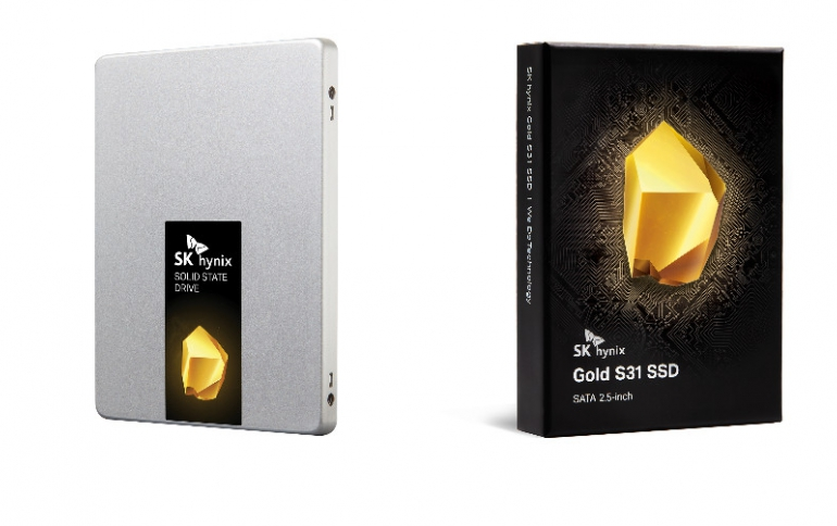 """SK hynix Unveils """"Gold S31"""" Consumer Solid-State Drive"""