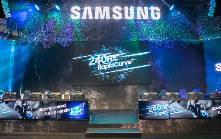Samsung Launches 240Hz G-Sync Compatible Curved CRG5 Gaming Monitor