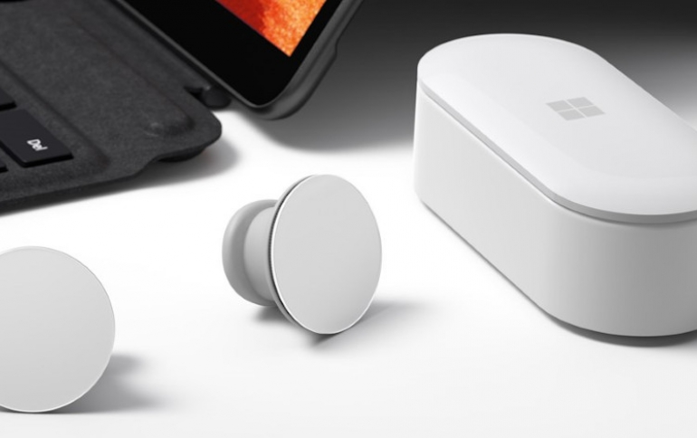 Microsoft Surface Earbuds Launch Pushed Back For Spring 2020