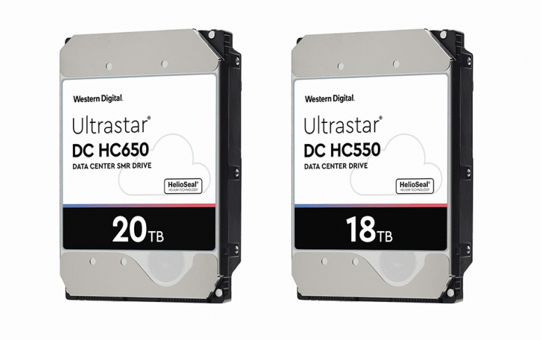 Western Digital to Deliver 18TB CMR and 20TB SMR HDDs in the First Half of 2020
