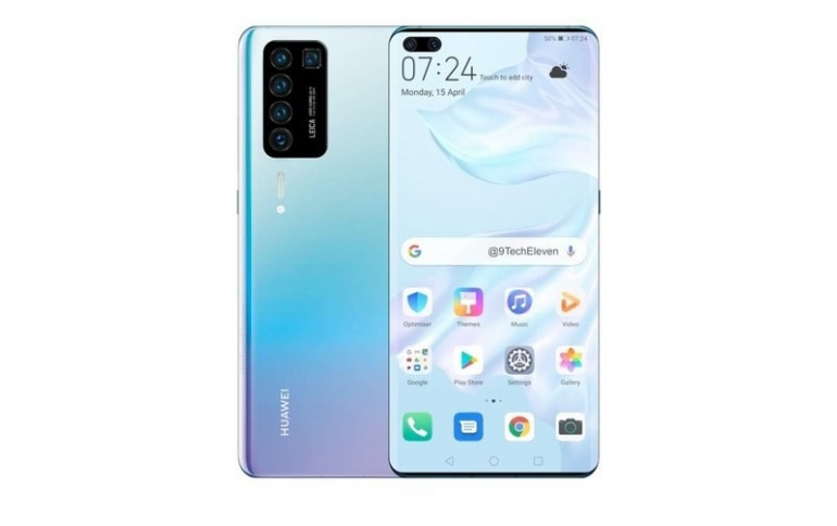 Huawei's P40 and P40 Pro Smartphones Will Ship Without  Google Mobile Services