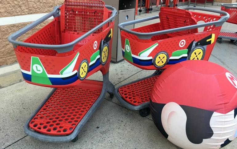 Nintendo Unveils the Mario Shopping Kart Store