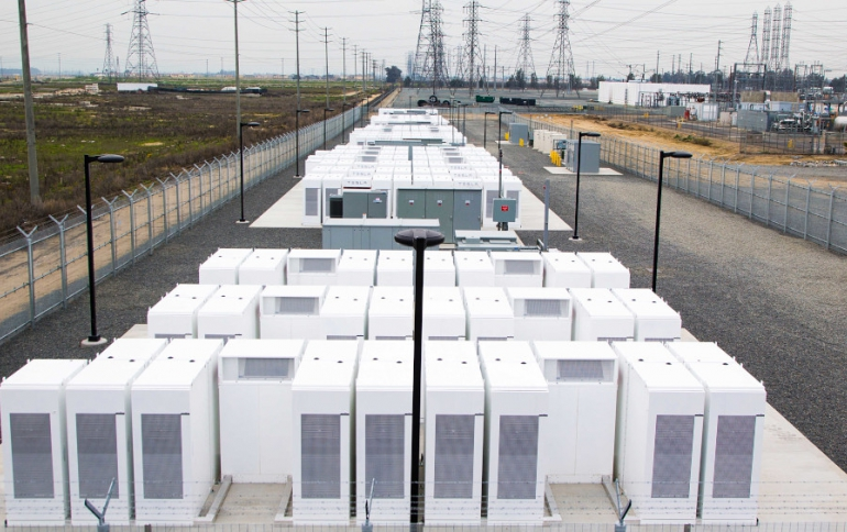 Tesla to Increase Capacity of the World's Largest Lithium-Ion Battery Site