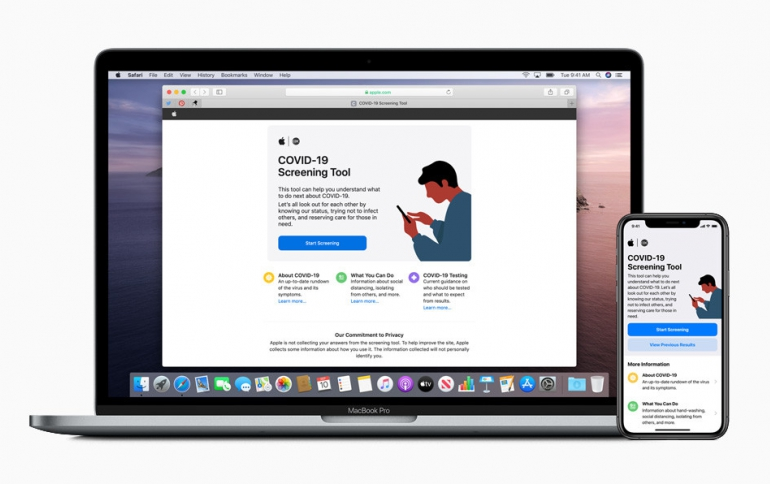 Apple Releases COVID-19 App and Website