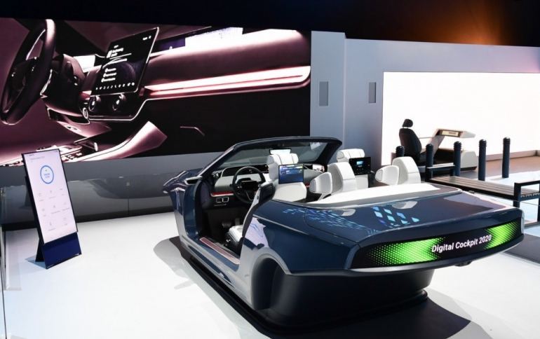 Samsung Showcases 5G-Based Digital Cockpit 2020