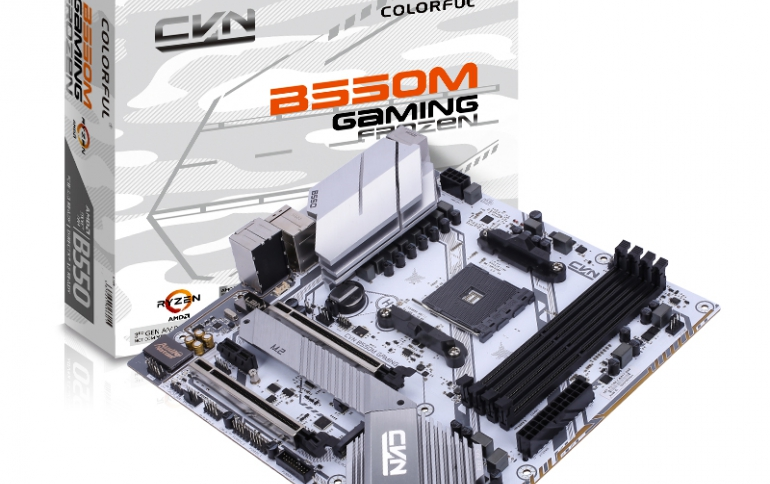COLORFUL Launches AMD B550 Mid-Tier Motherboards Featuring PCI-Express 4.0 Support