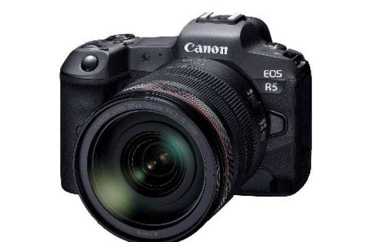 Canon Reveals Further EOS R5 Details