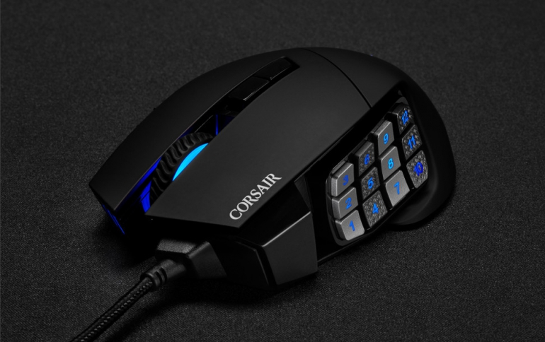 CORSAIR Releases SCIMITAR RGB ELITE MOBA/MMO Gaming Mouse and MM500 3XL Mouse Pad
