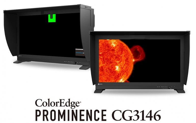EIZO Releases True HDR Reference Monitor with Built-In Calibration Sensor for Professional Color Grading