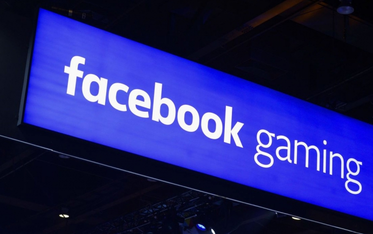 Facebook to Introduce Live Gaming Mobile App