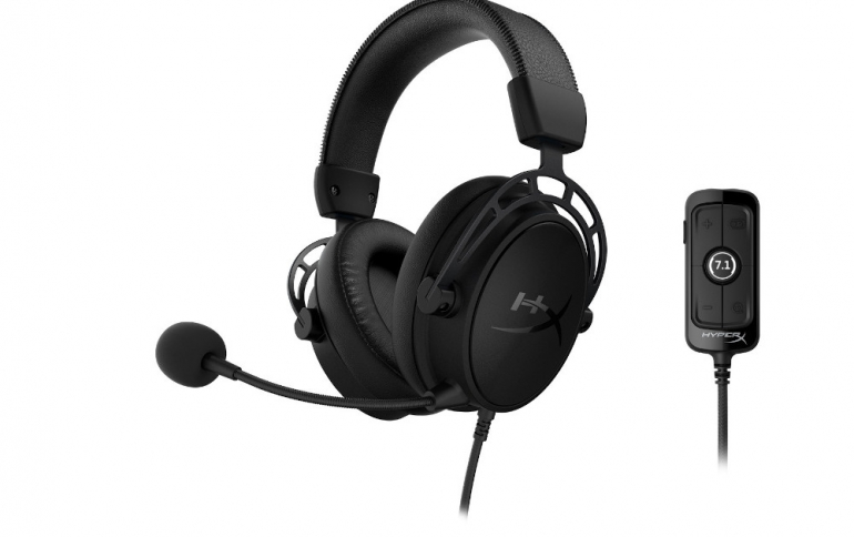 HyperX is Shipping The Cloud Alpha S Blackout Edition Headset