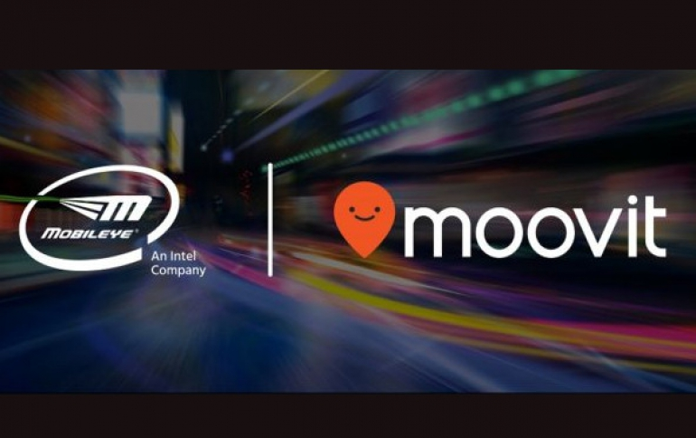 Intel Acquires Moovit to Accelerate Mobileye's Mobility-as-a-Service Offering