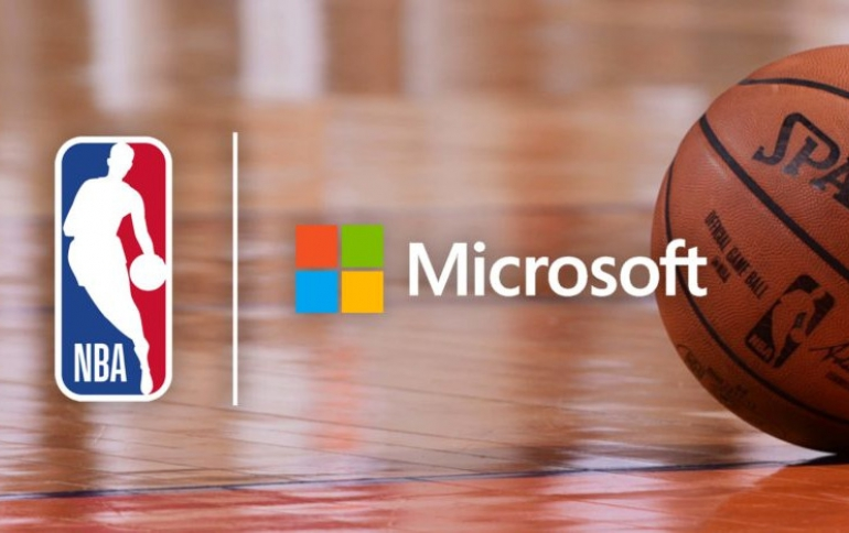 NBA Announces Multiyear Partnership With Microsoft