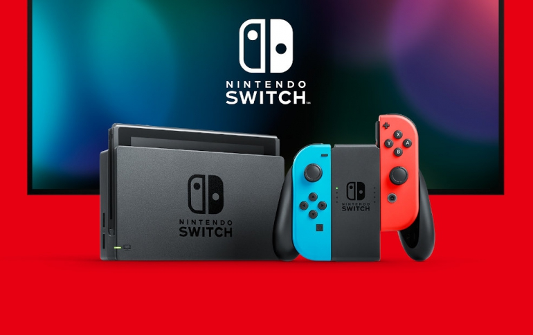 Nintendo Stops Shipping Switch Consoles