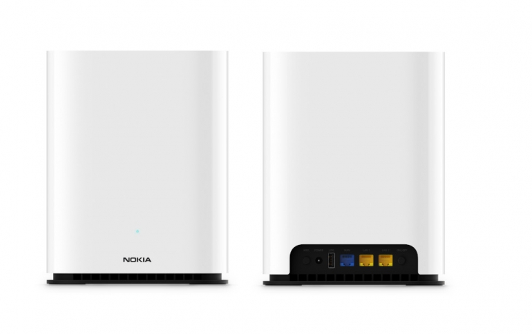 Nokia Introduces New Wi-Fi 6 Mesh Router