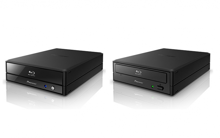 Pioneer Launches Two External 16x Blu-ray Disc Burners