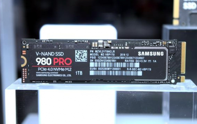 CES: Samsung Teases With Samsung 980 PRO PCIe 4.0 SSD