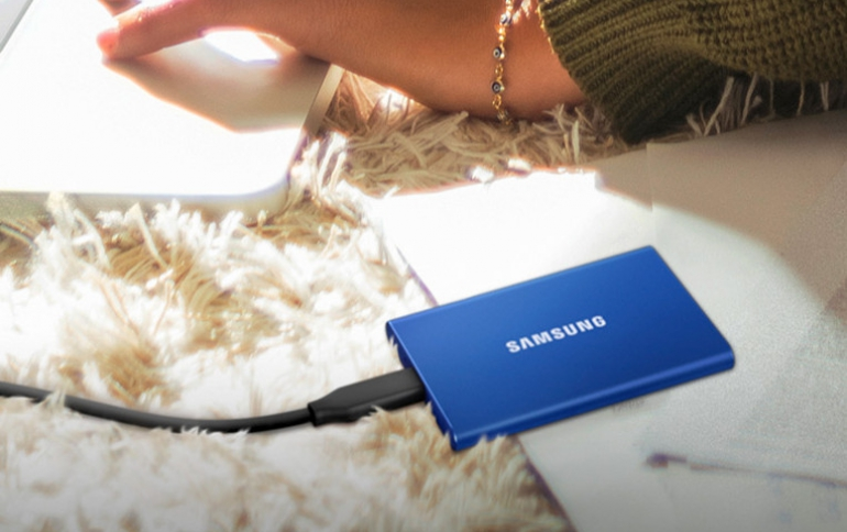 Samsung's T7 Portable SSD Is Now Available for Purchase