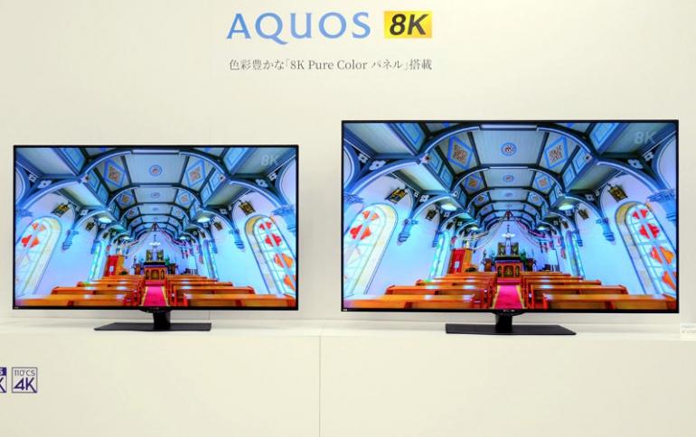 Sharp Unveils New Flagship AQUOS CX1 8K series of TVs