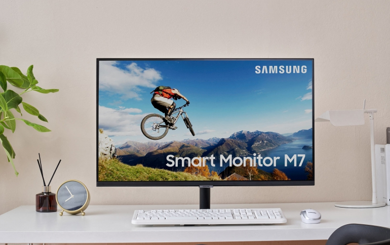 Samsung Announces World's First 'Do-It-All' Monitor for Work, Learning and Entertainment at Home