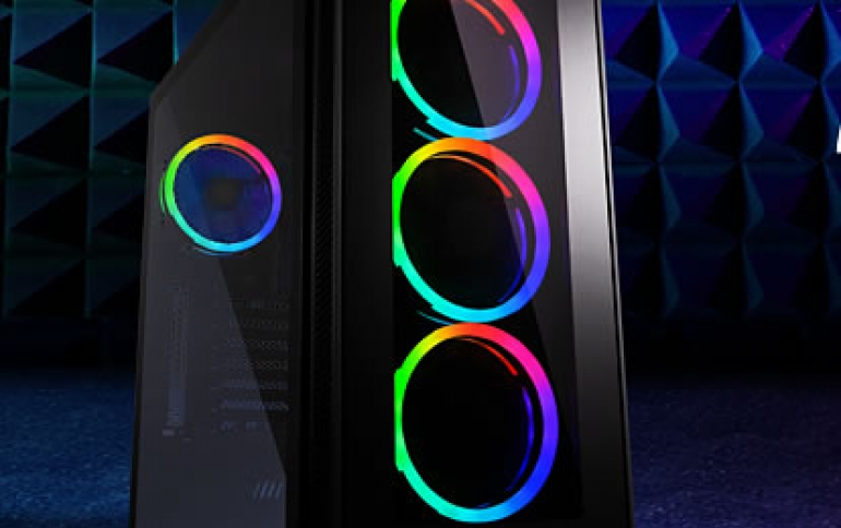Sharkoon TG5 RGB Silent PCGH Edition | Low Noise PC Case with RGB Illumination