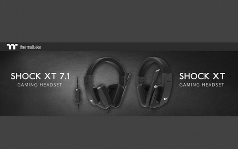 Thermaltake Announces New Shock XT 7.1 and Shock XT Gaming Headsets