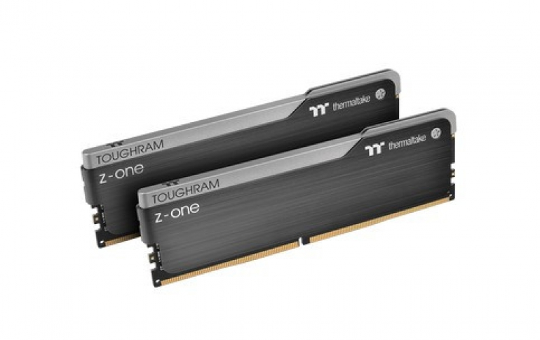 Thermaltake Launches TOUGHRAM Z-ONE Memory Series: 3200/3600MHz