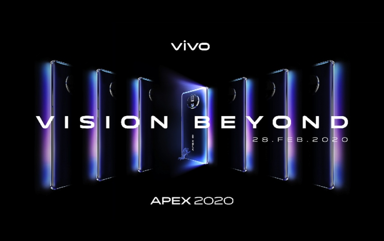 Vivo's APEX 2020 Concept Reveals Edgeless Display and Photography Features
