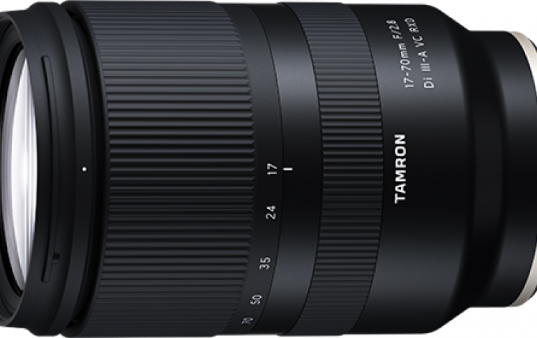 Tamron announces world's first1 17-70mm F2.8 lens for APS-C mirrorless cameras