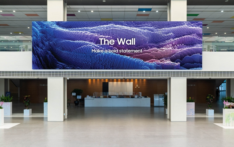 Samsung's The Wall Reshapes the Display Market with Ultimate Versatility and Ingenious Design
