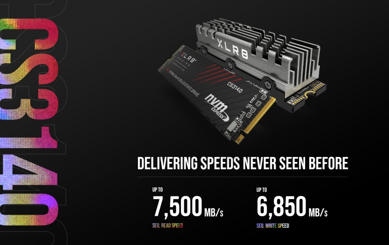 PNY XLR8 CS3140 M.2 NVMe Gen4 x4 Solid State Drive Delivering Speeds Never Seen Before