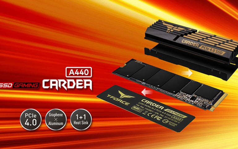 TEAMGROUP Launches T-FORCE CARDEA A440 PCIe 4.0 SSD With Industry-Leading Specifications, Challenging and Surpassing Limits