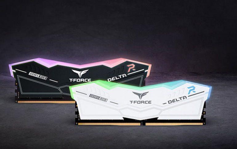 TEAMGROUP Pioneers in Bringing RGB to Next-Gen DDR5 with the Launch of T-FORCE DELTA RGB DDR5 Gaming Memory