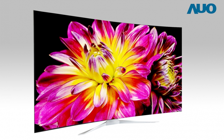 AUO Ultra Large 8K4K ALCD Unveiled at CES
