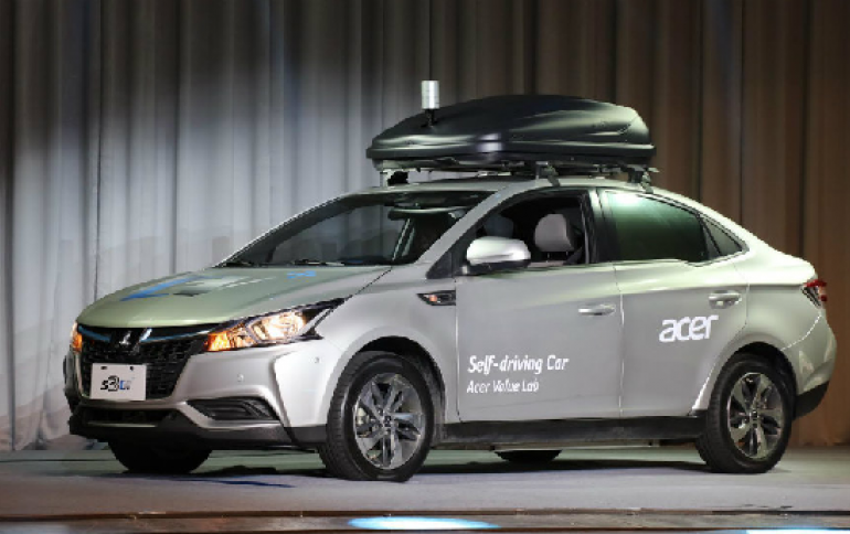 Acer to Start Testing Driverless Cars in Taiwan