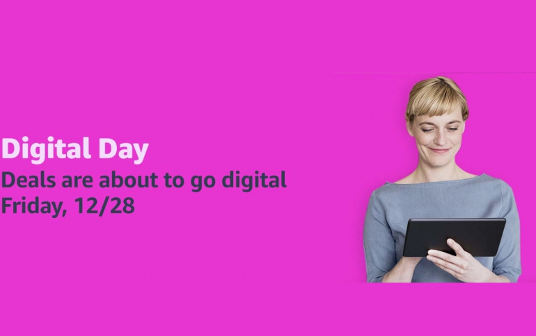 Amazon's Third Annual Digital Day Starts on December 28