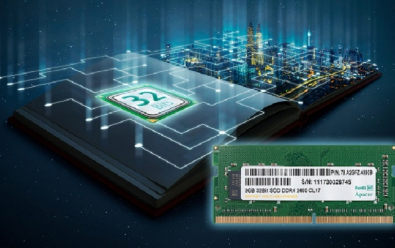 Apacer Launches First 32-Bit DDR4 SODIMM Compatible With ARM-based Systems