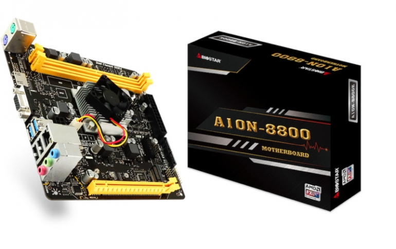 BIOSTAR Launches A10N-8800E SoC Motherboard with AMD Carrizo and AMD Radeon R7 Graphics