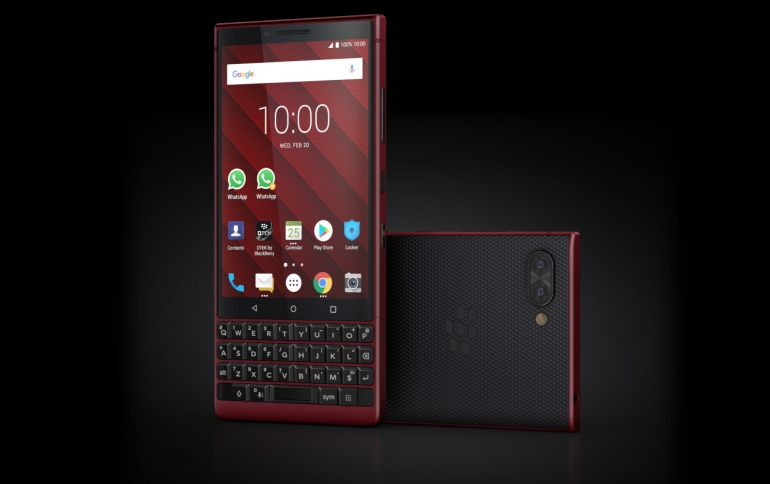 BlackBerry KEY2 Red Edition Available In The United States