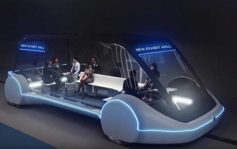 Musk's Boring Company Granted $48.6 Million Contract to Build Las Vegas Transit System