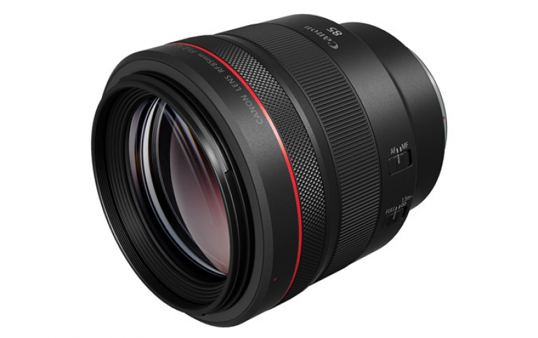 Canon Launches Portrait Lens For Its New EOS-R Series Mirrorless Cameras