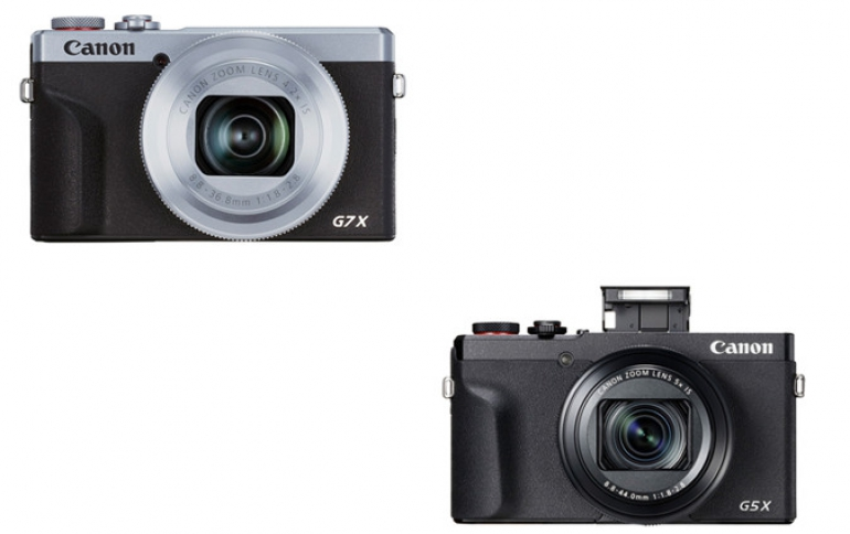Upgrade Your Visual Storytelling Tools With Two New PowerShot G-Series Cameras