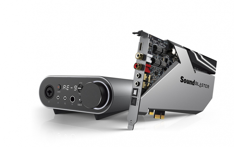Creative Releases the the  Sound Blaster AE-9 and Sound Blaster AE-7 Sound Cards