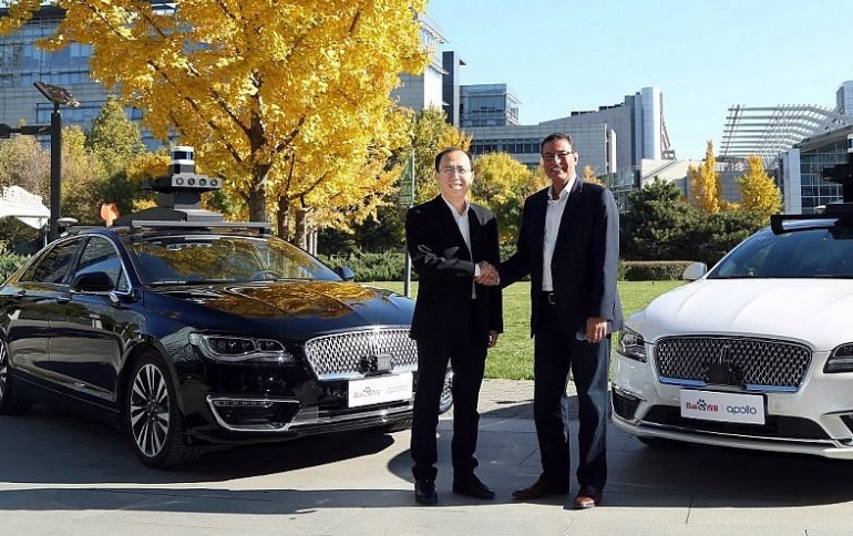 Ford and Baidu to Jointly Test Autonomous Vehicles