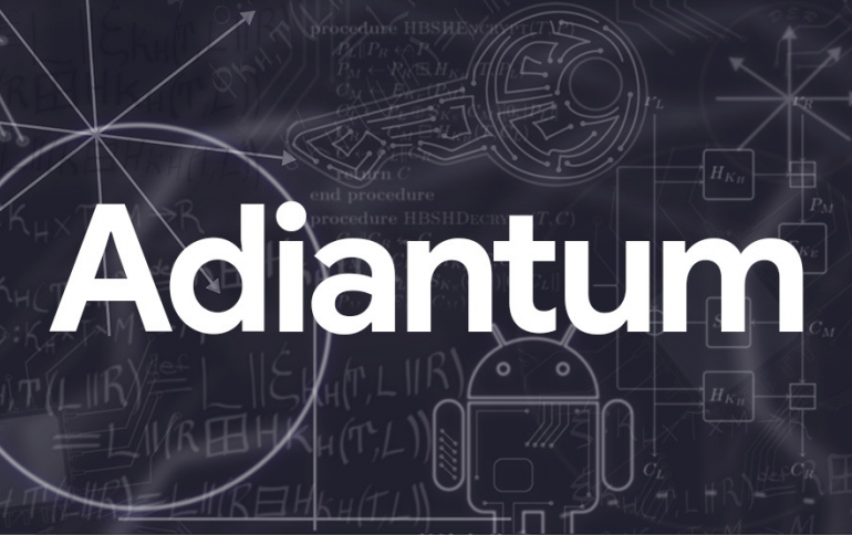 Google Introduces the 'Adiantum' Encryption for Low-end Android Smartphones