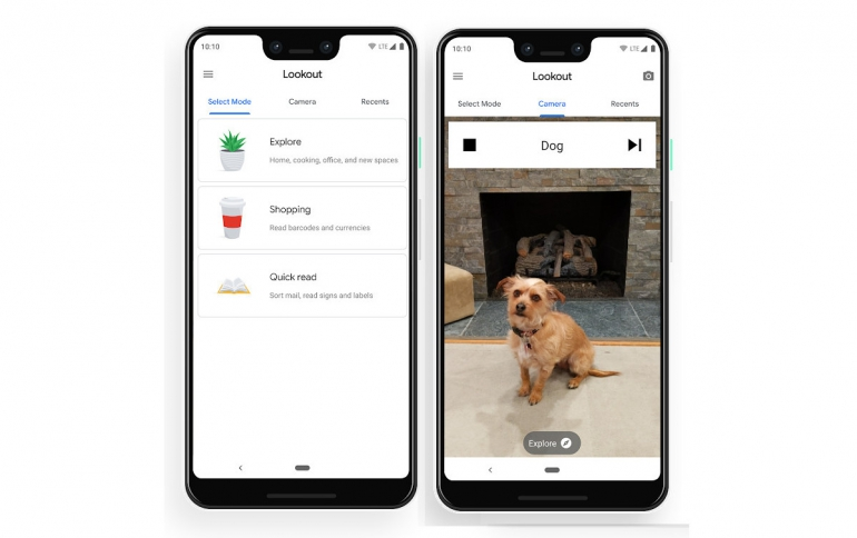 Google Lookout app Identifies Objects for the Visually Impaired