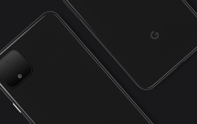 Google Posts Picture of Pixel 4 on Twitter