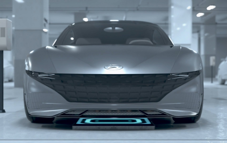 Hyunda  Motor Group Unveils System For Electric Vehicles That Charge Themselves