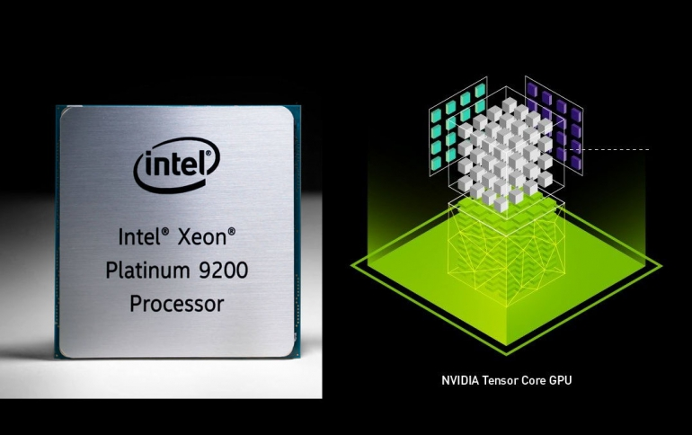 Intel Says CPU Outperforms NVIDIA GPU on ResNet-50 Deep Learning Inference