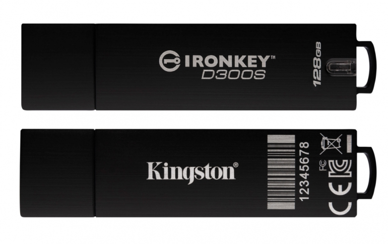 Kingston Enhances IronKey D300 Encrypted USB